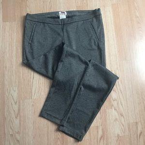 Mini Houndstooth Plaid Skinny Leg Dress Pants